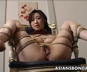 Plaything fucked roped up..