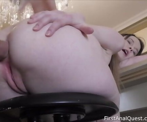 First Painful Assfuck Fuck..