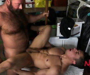 Daddy Screws his Step-son
