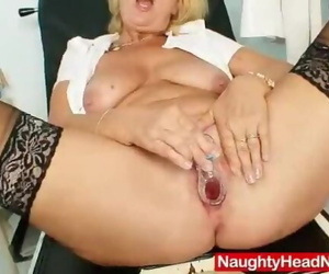 Blond MILF Greta Big Inborn..