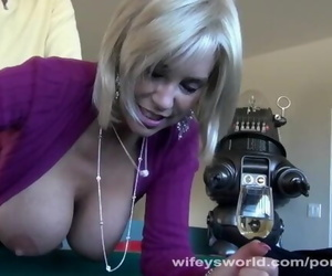 Blond MILF with Big Boobs..