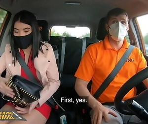Fake Driving School Woman..