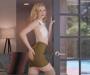 Charlotte Stokely Unzips Her..